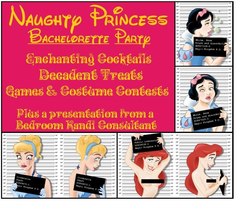 Naughty Princess Invite