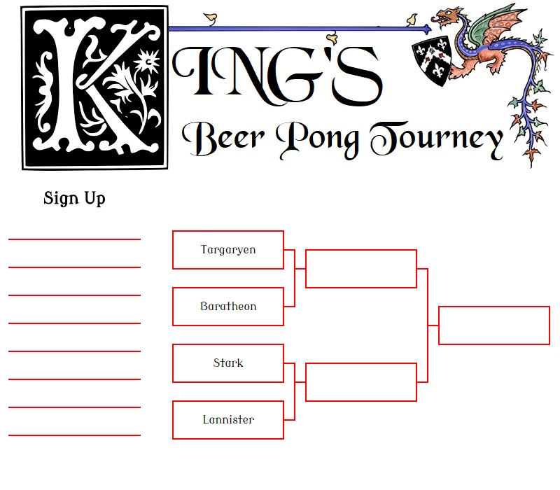 King's Beer Tourney